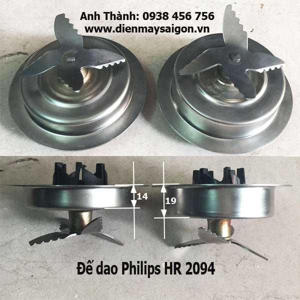 Đế dao Philips HR 2094